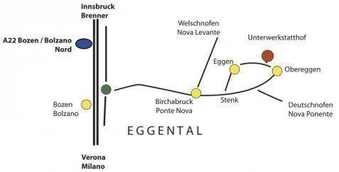 Urlaub auf dem Unterwerkstatthof in Eggen / Deutschnofen – Südtirol